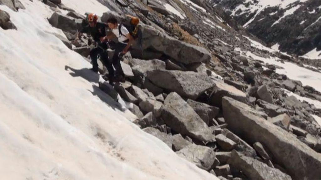 El GREIM de Benasque recibe una llamada de emergencia por un montañero perdido