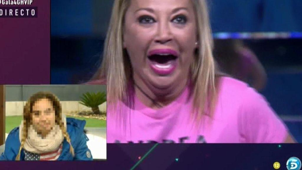 """Andrea, a su madre Belén Esteban: """"Lo puedes hacer mucho mejor"""""""