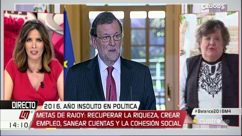 """Almeida: """"Lo mejor de 2016 es haber estado medio año sin gobierno"""""""