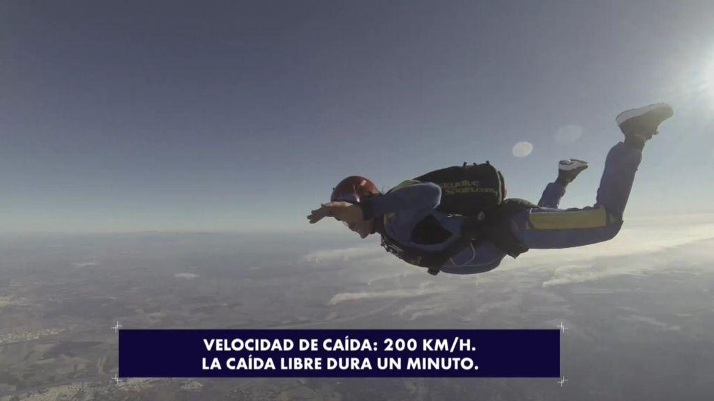 "Gisela utiliza con Rafa la terapia de choque para ""vencer los miedos"": salto en paracaídas"