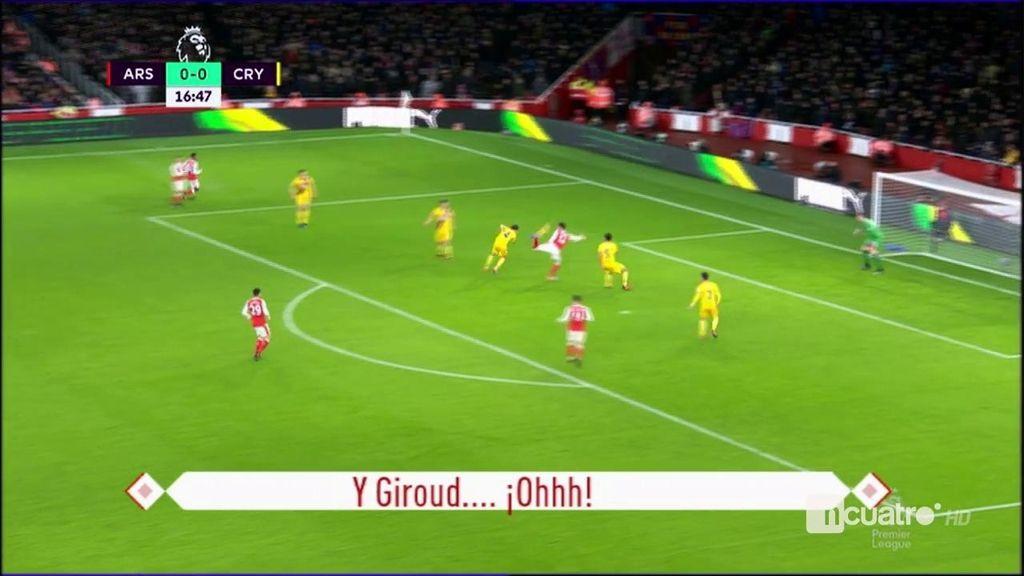 ¿Ya tenemos el mejor gol del 2017? Golazo de escorpión de Giroud con el Arsenal