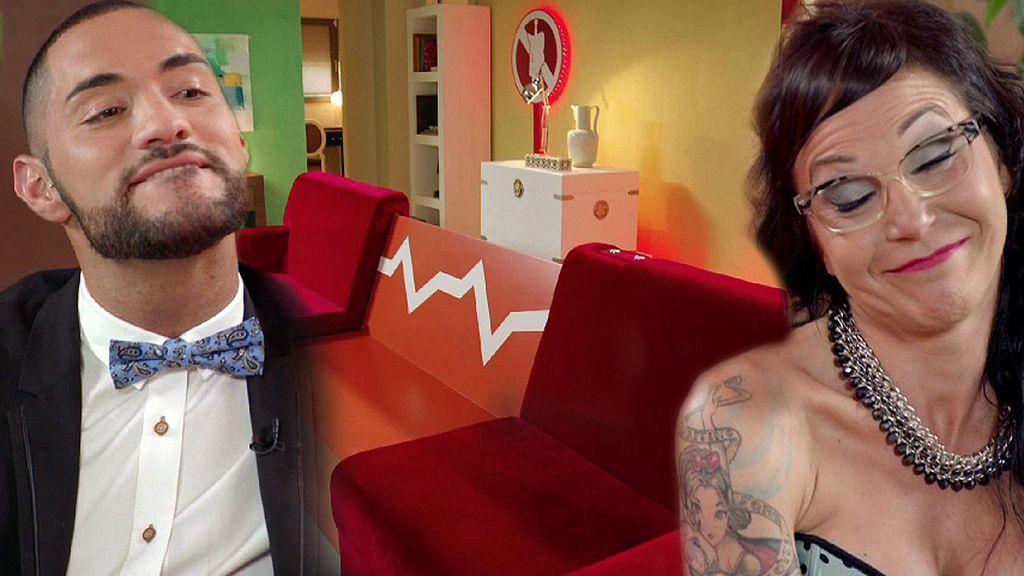 La situación se complica para Luján en el estreno de 'Tú, yo y mi avatar'