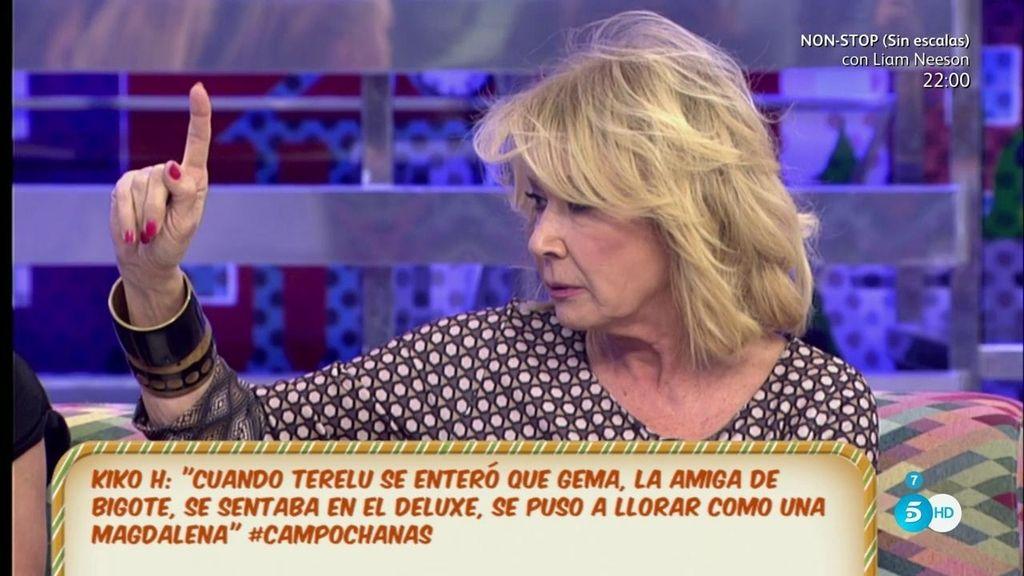 Según Mila Ximénez la 'amiga' de Bigote tenía dos versiones para contar en los platós
