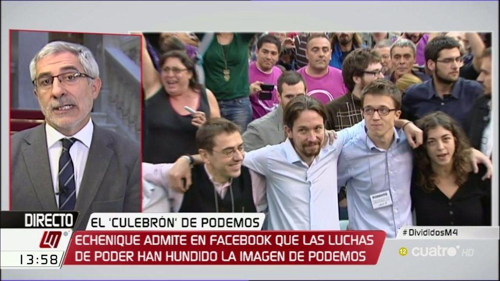 """Gaspar Llamazares: """"En Podemos hay un exceso de confianza y sectarismo"""""""