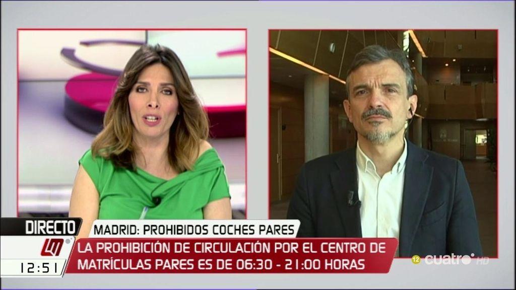 """José M. López habla de su relación con Espinar: """"No comprendí las formas del cese"""""""