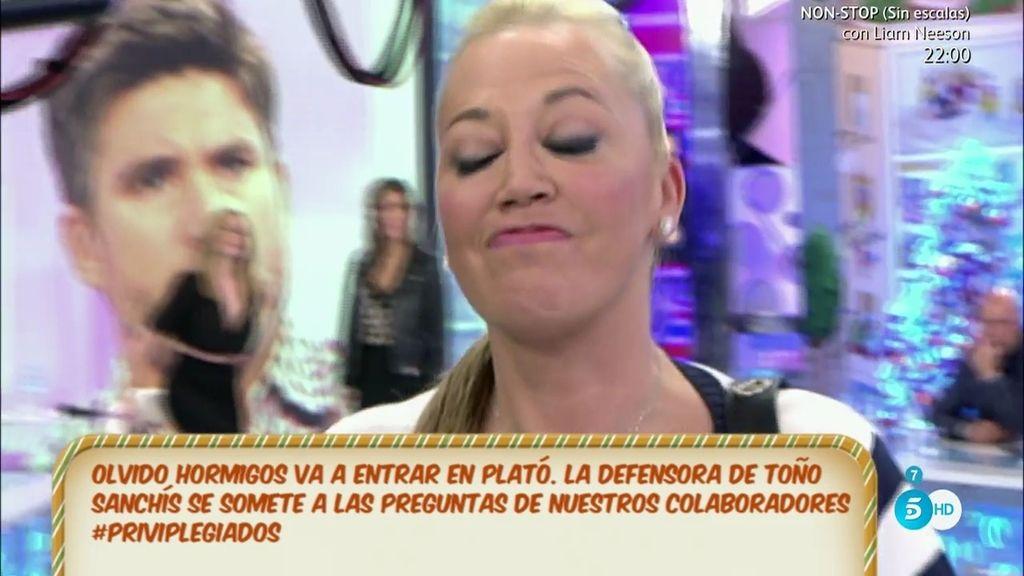 """Olvido Hormigos, de Belén Esteban: """"Se va del plató por cobardía"""""""