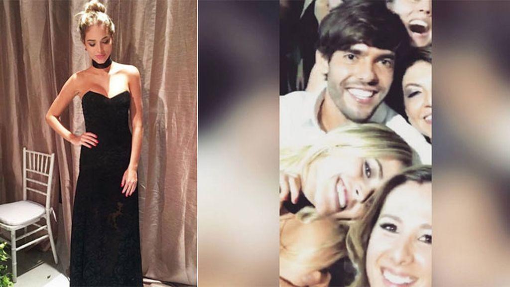 Su primera aparición (no oficial) juntos fue en la boda de Lucas Moura y Larissa