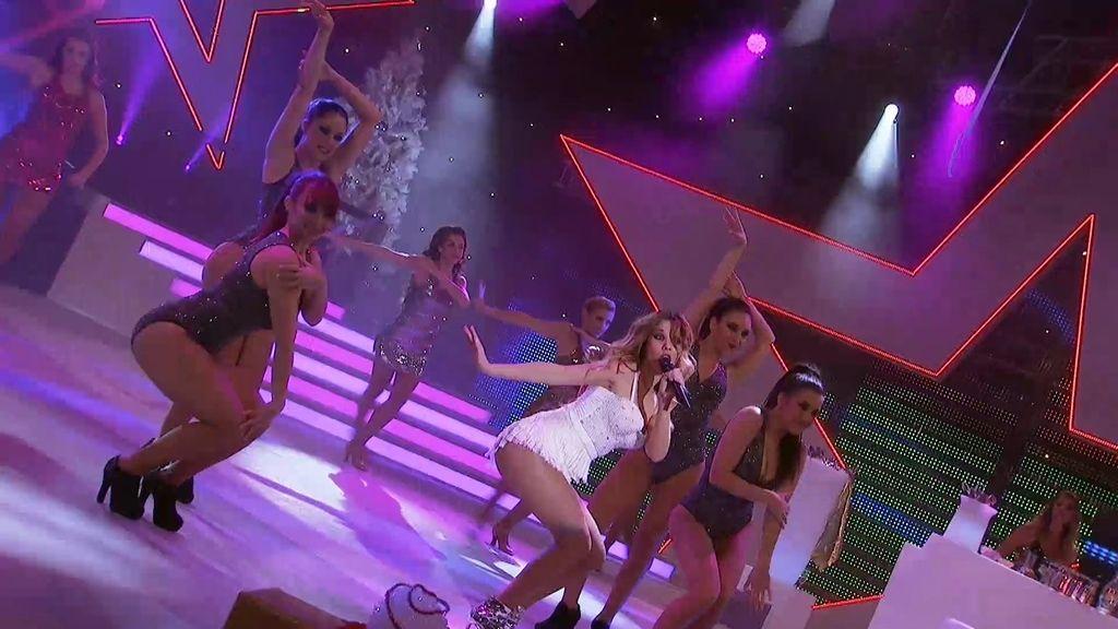 Sube la temperatura de la gala con Natalia...¡Bailando con Caparrós!