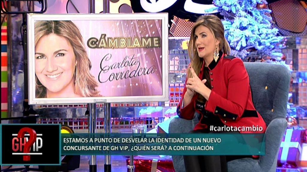 """Carlota Corredera: """"De lo que realmente tengo miedo es de quedarme sin trabajo"""""""