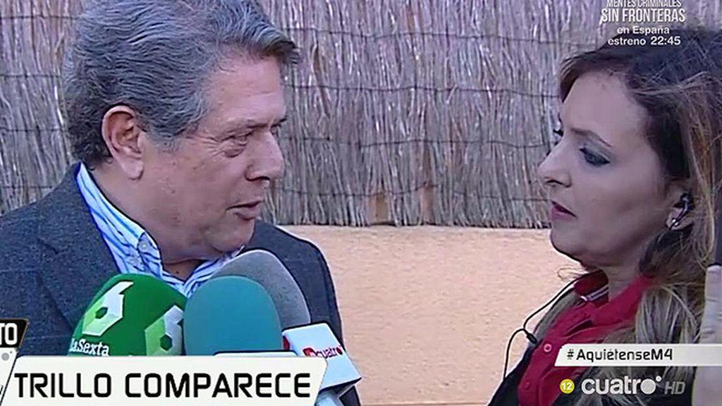 """Federico Trillo: """"He tenido cuatro años de mandato que cumplí el 15 de mayo"""""""