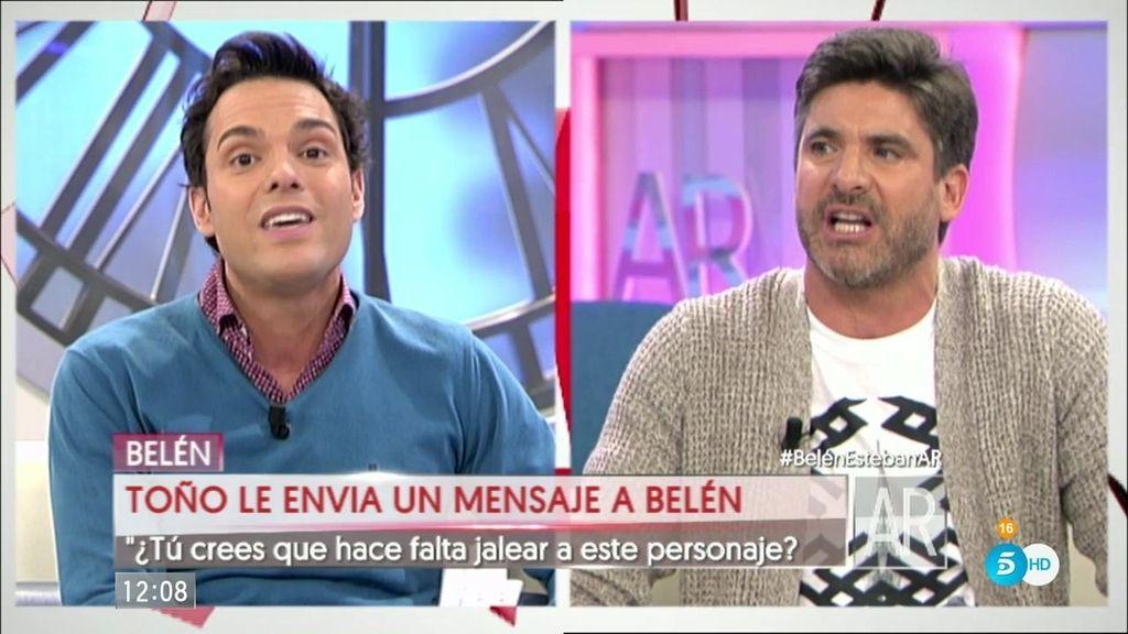 """El fuerte enfrentamiento entre Antonio Rossi y Toño Sanchís: """"¡Te voy a demandar!"""""""