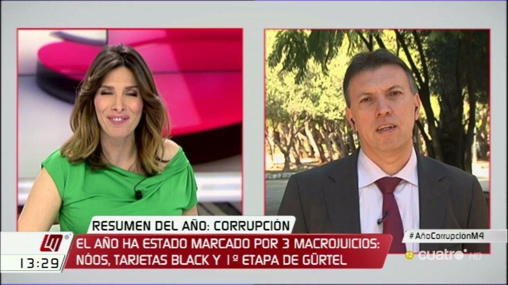 """Juez Bosch: """"Los corruptos tienen más instrumentos para eludir la justicia que nosotros para perseguirles"""""""