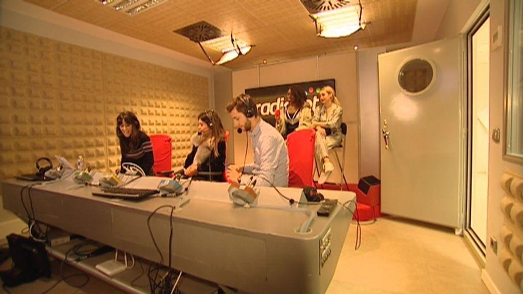 Dulceida visita Radioset con sus finalistas