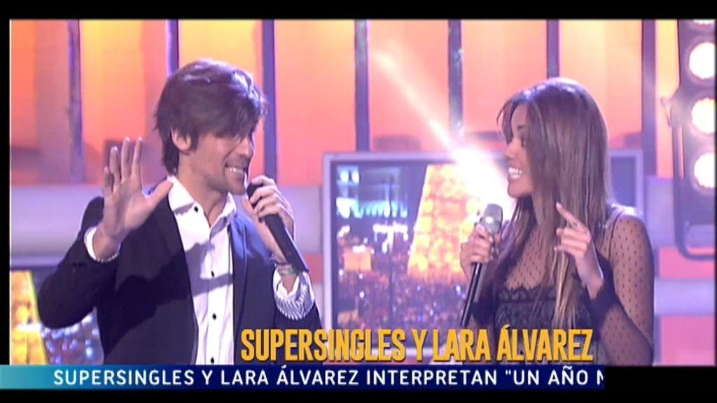 Lara Álvarez presenta las campanadas, es toda una 'supervivientes' y... ¡también canta!