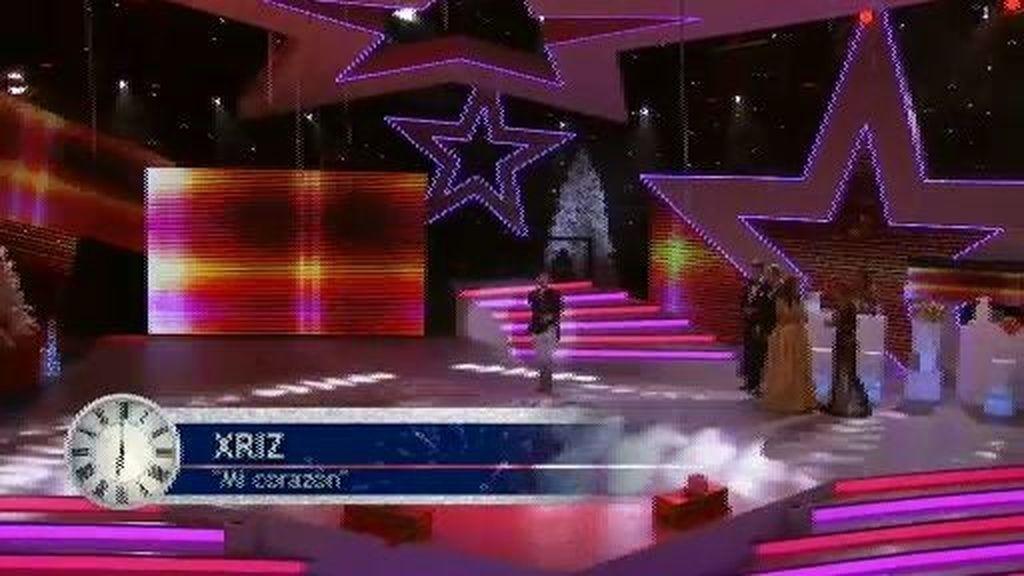 Xriz y su 'Corazón' levantan al público con su actuación