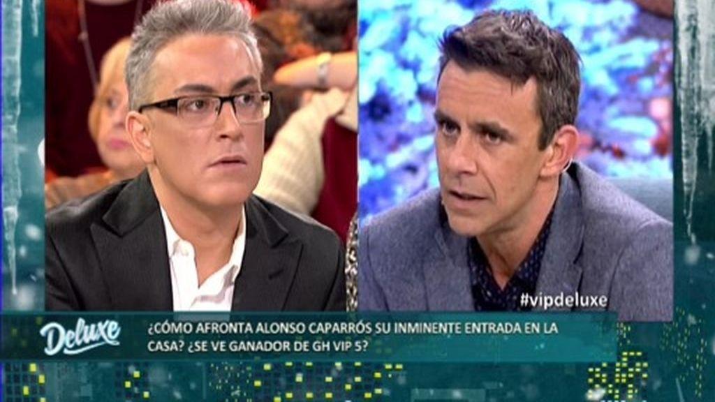 """Alonso Caparrós: """"Yo prefiero no compararme con Carlos Lozano"""""""