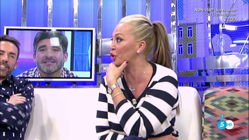 """Belén Esteban responde a Toño Sanchís: """"Cada semana dices una cosa, ¡aclárate ya!"""""""