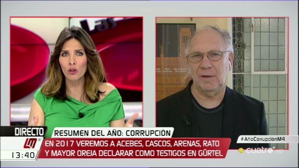 """Ekaizer, de la corrupción: """"Estamos inundados de causas y no tenemos recursos"""""""
