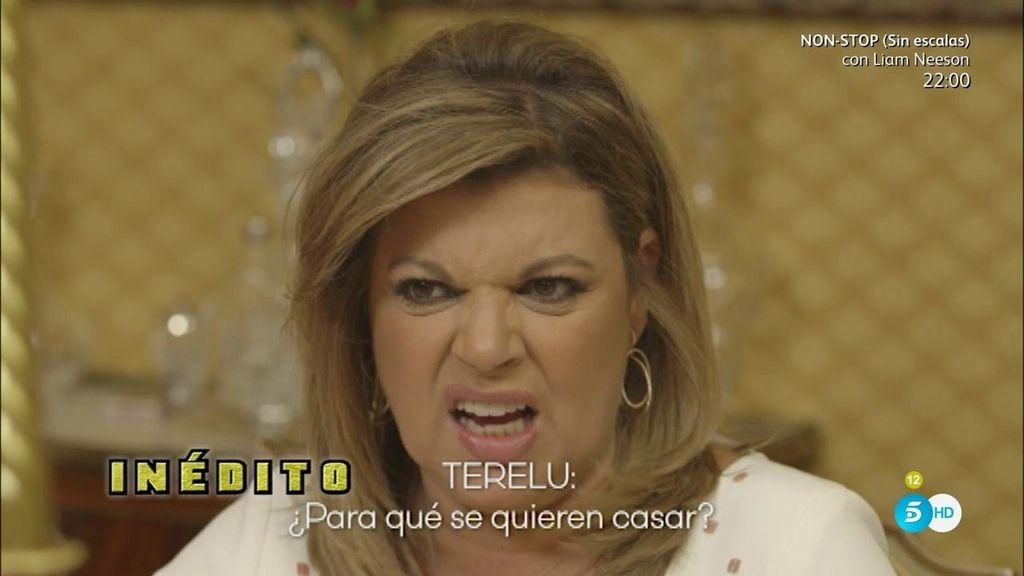 """¡Inédito! Terelu, de Mª Teresa: """"¿Para qué se quiere casar?, ¡déjate de tonterías!"""""""