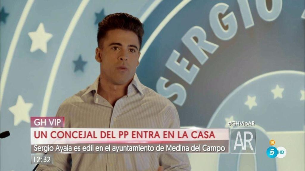 Sergio Ayala, edil del PP y expretendiente de 'MYHYV' entra en 'GH VIP'