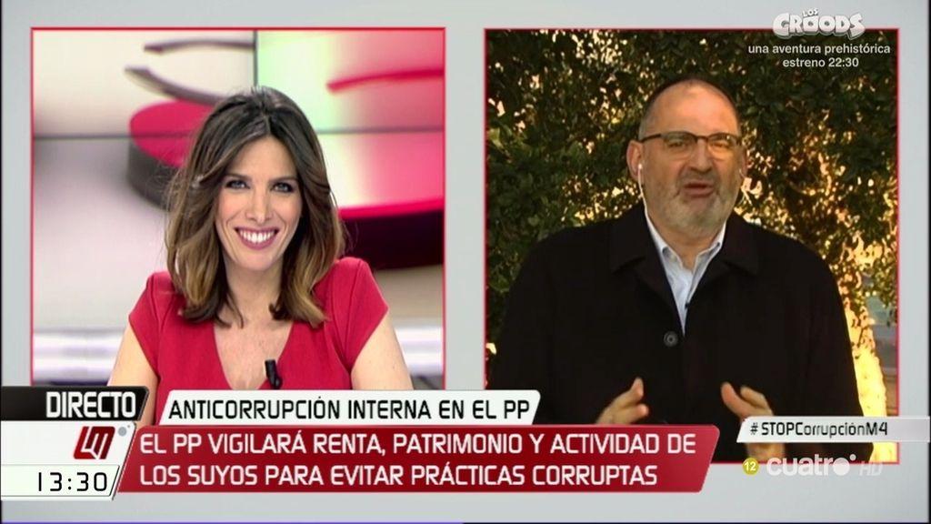 """Antón Losada, sobre la oficina antifraude del PP: """"Solo han necesitado 10 años de corrupción para darse cuenta"""""""