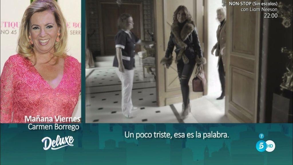 """Carmen Borrego: """"Nadie me ha preguntado por mi relación con Edmundo"""""""