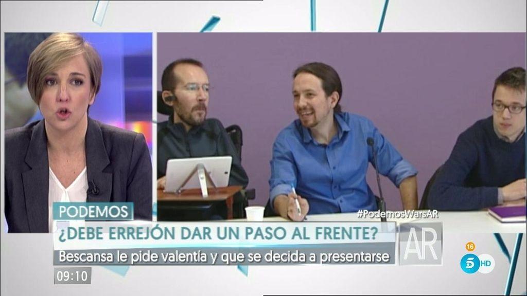 """Tania Sánchez: """"Nadie ha puesto en duda que Iglesias esté al frente de la secretaría"""""""