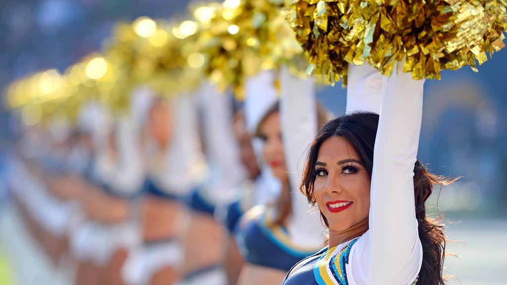Las cheerleaders del Qualcomm Stadium de San Diego