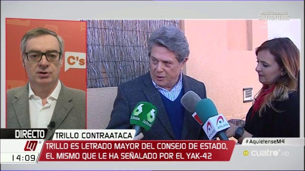 """José Manuel Villegas, de Trillo: """"Su situación era insostenible tras el informe"""""""