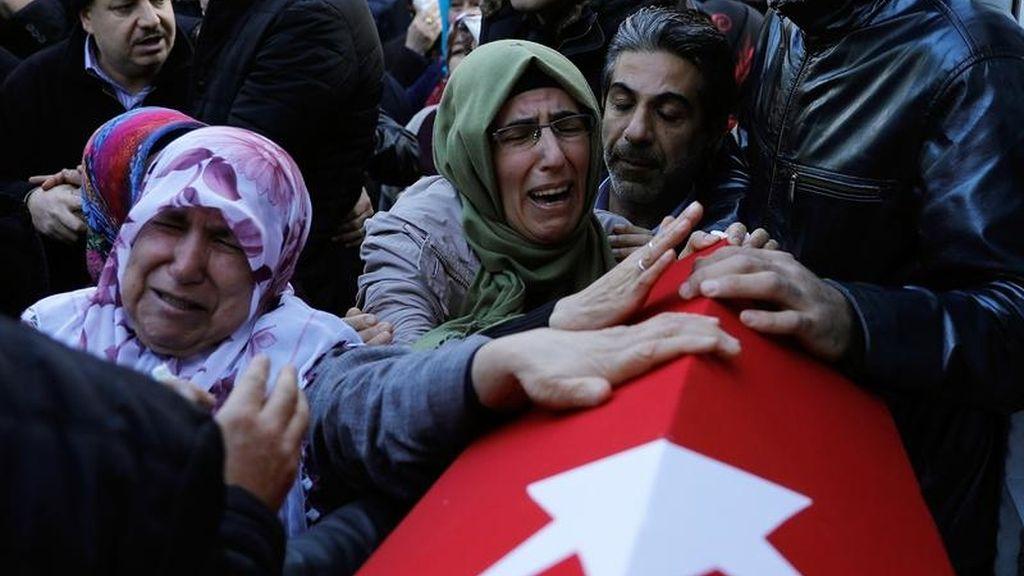 Víctimas del ataque en Turquía