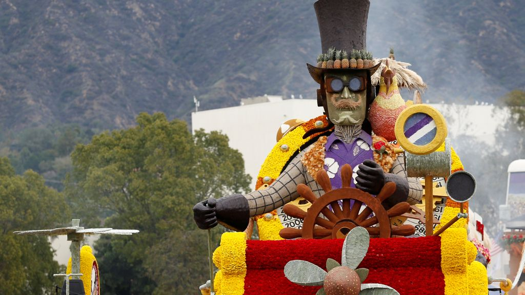 Festejos en California en el histórico Festival de Pasadena