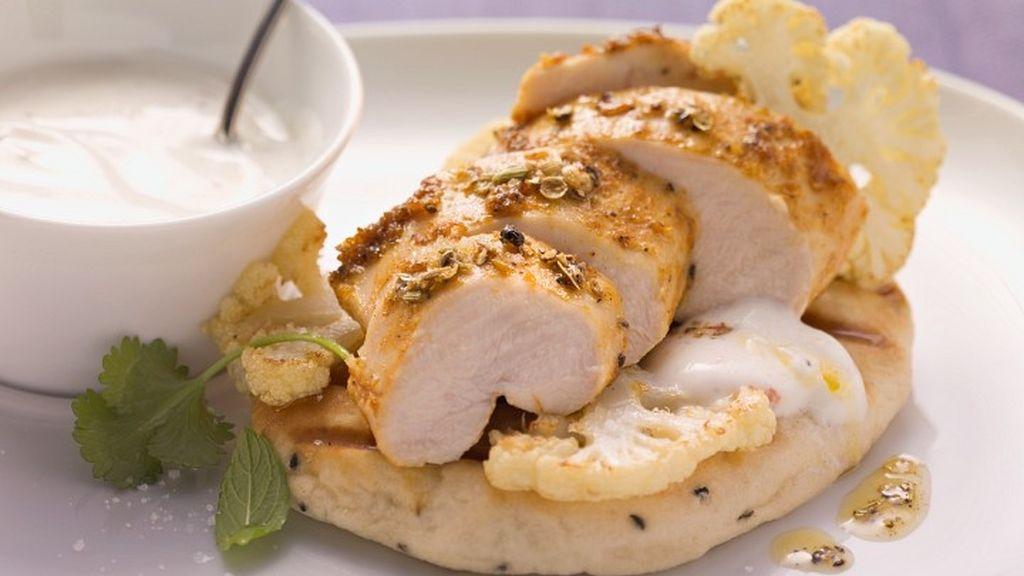 pollo con yogur