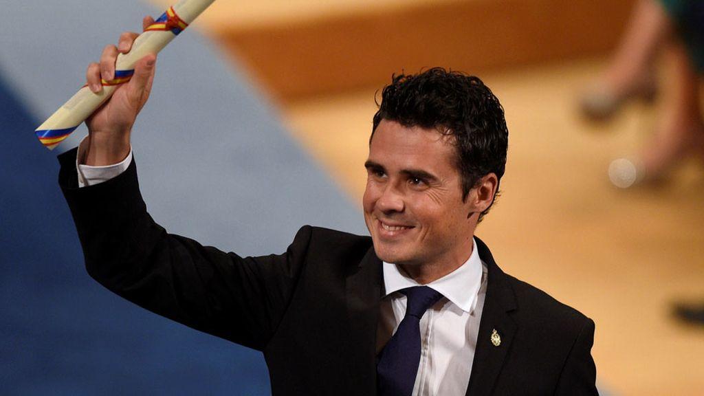 Gómez Noya recibe el Princesa de Asturias de los Deportes (21/10/2016)