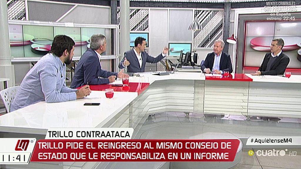 """E. del Río: """"Me parece lamentable querer utilizar el dolor de los familiares de las víctimas para desgastar al Gobierno"""""""