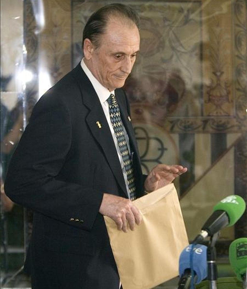 El ex máximo accionista del Betis Manuel Ruiz de Lopera. EFE/Archivo