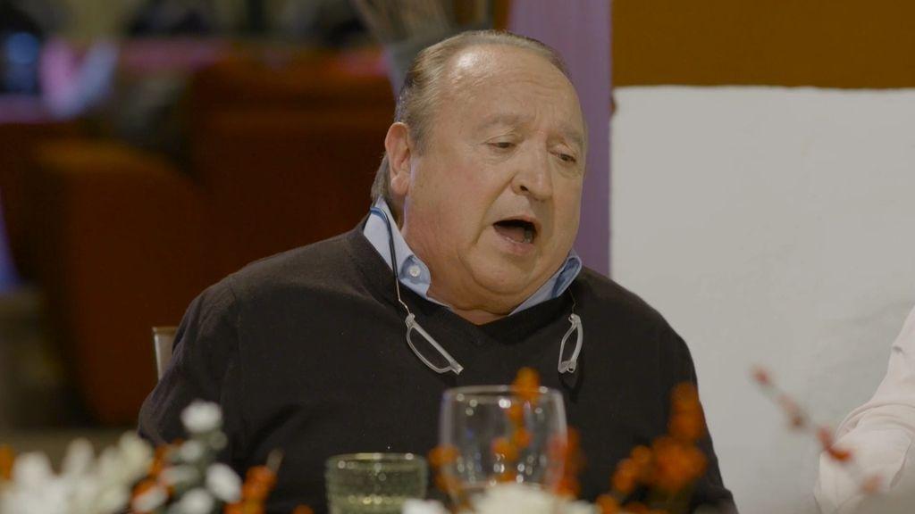 Fernando Esteso imita a Bertín Osborne cantando 'Como un vagabundo'