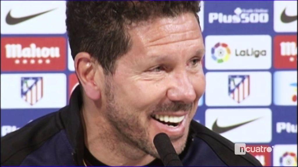 """Simeone: """"Los hinchas y los futbolistas me van a tener que seguir soportando"""""""