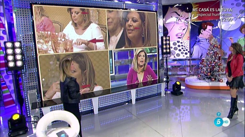 Analizamos las polémicas caras de Carmen y Terelu en 'Las Campos'