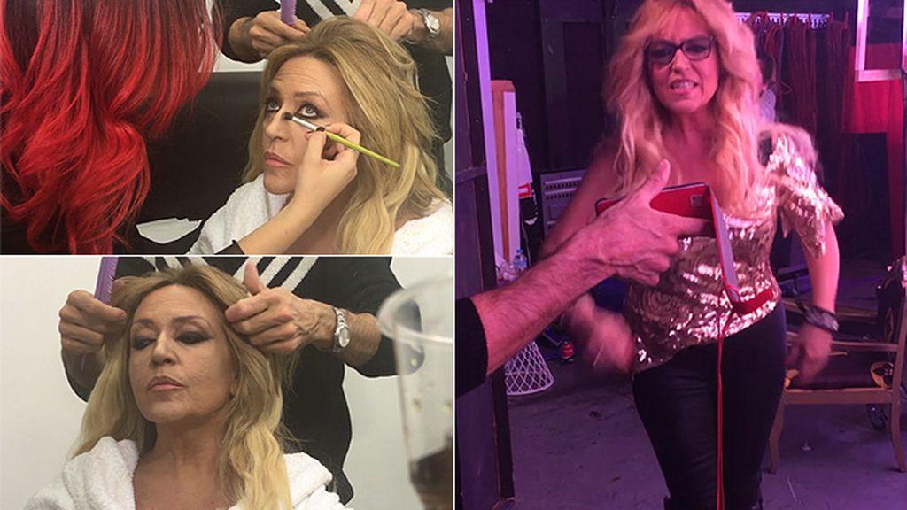 ¡En exclusiva!: La increíble transformación de Shakira Lozano antes de salir a escena