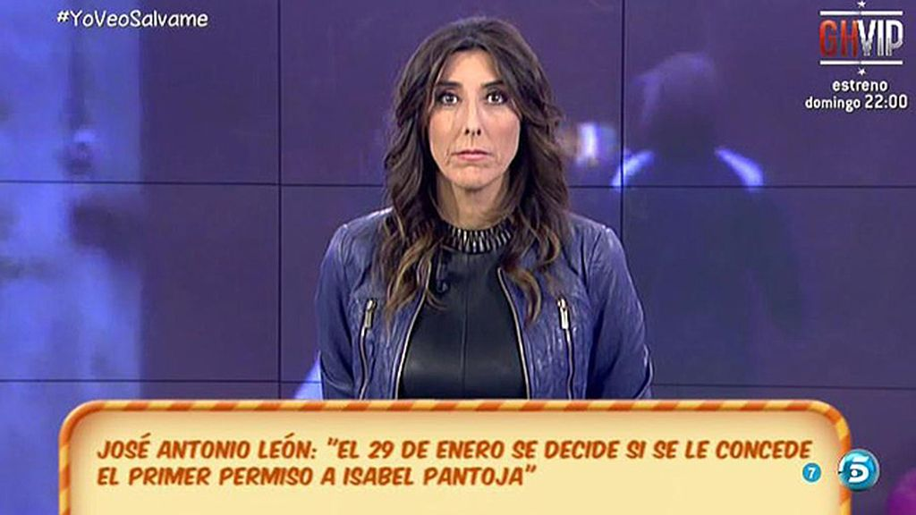 """J.A. León: """"Por lo visto, un funcionario pasa con Pantoja más tiempo del debido"""""""