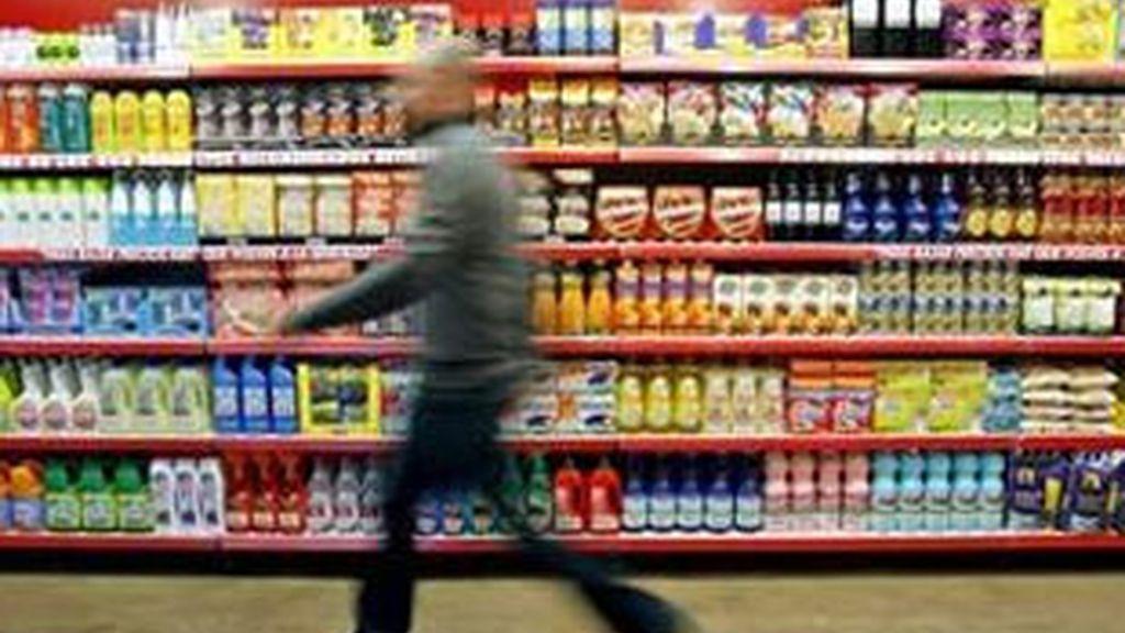 El aumento de la inflación en julio se explica sobre todo por la subida de los precios de los alimentos y las bebidas no alcohólicas. Foto: EFE