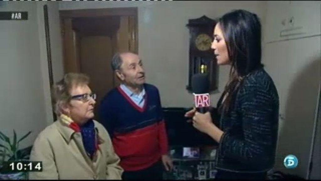 """Los exsuegros de Nieves: """"Si ella no tuviera un piso yo no desahuciaría a mis nietos"""""""