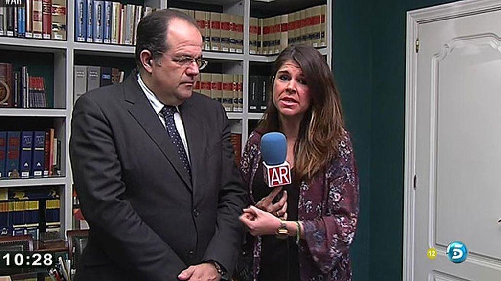 'AR' habla con el abogado padre biológico del menor asesinado en Málaga