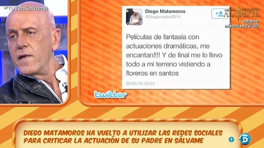 """Diego, en Twitter: """"Películas de fantasía, con actuaciones dramáticas, ¡me encantan!"""""""