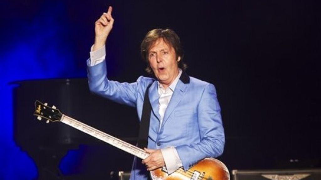 Una imagen de archivo de Paul McCartney