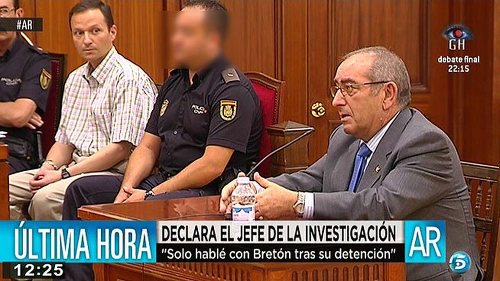 """Castro, jefe de la investigación: """"Bretón estaba como si la fiesta no fuera con él"""""""