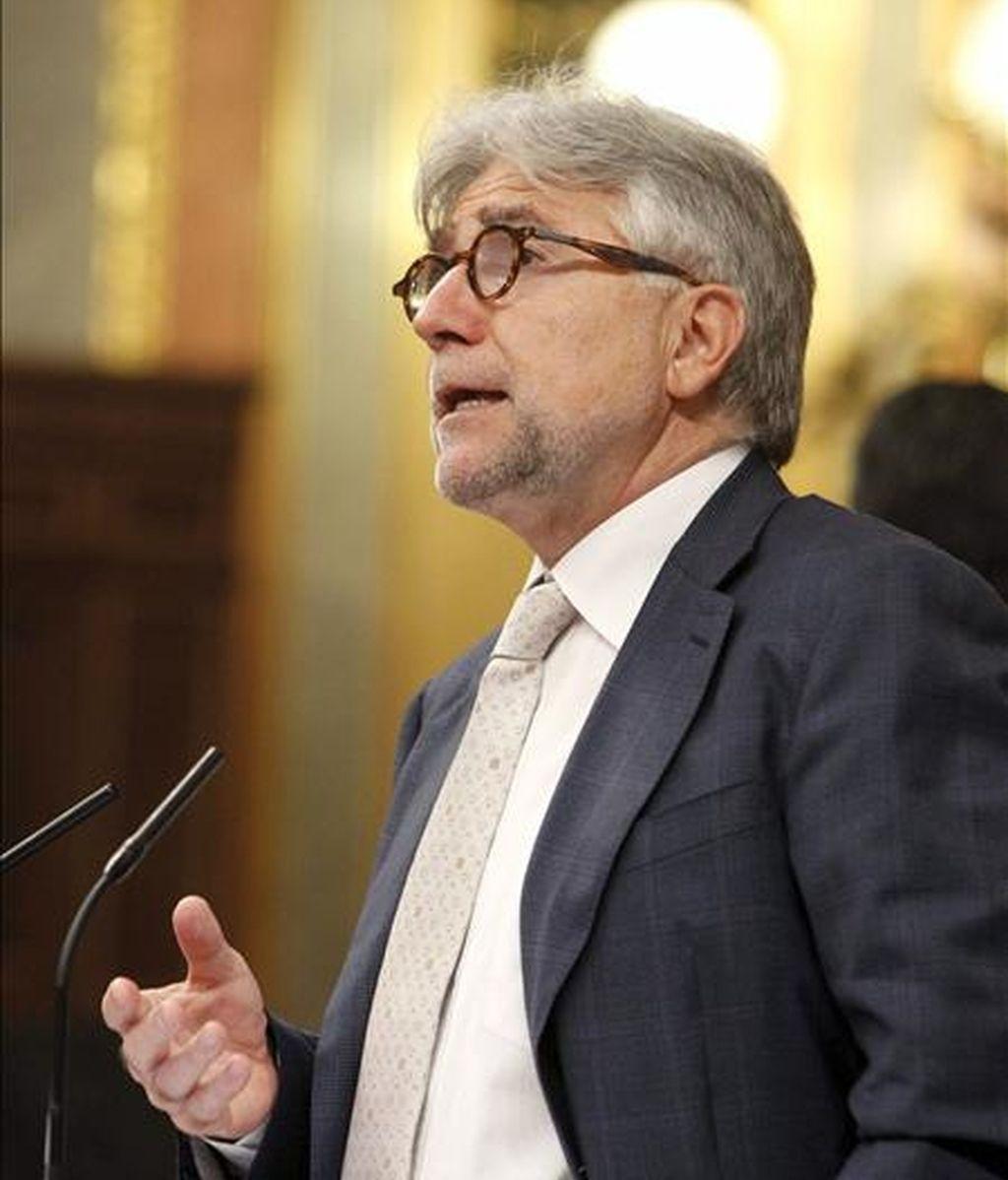 El diputado de CiU Josep Sánchez Llibre. EFE/Archivo