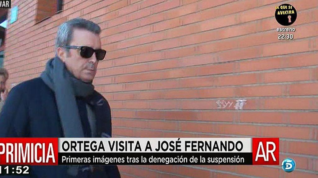 Ortega visita a J. Fernando después de que la jueza rechazara la suspensión de la pena
