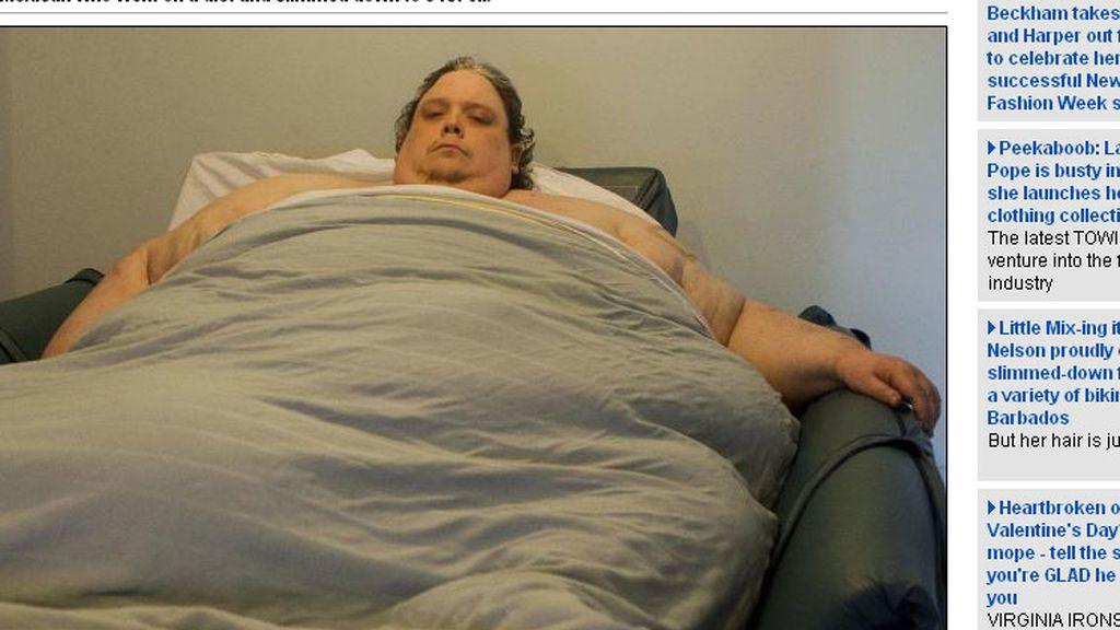 Keith Martin pesa 638 kilogramos de peso