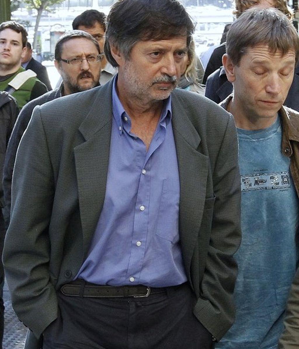 Rafael Díez Usuabiaga se dirige a la Audiencia Nacional a conocer la sentencia de diez años por pertenencia a ETA según la Audiencia Nacional.